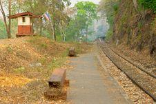 Free Death Railway. Stock Image - 8282301