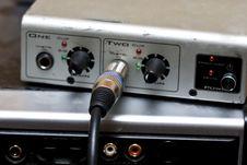 Audio Royalty Free Stock Photo
