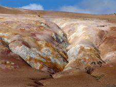 Volcano Krafla Stock Images