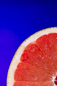 Pink Grapefruit Stock Image
