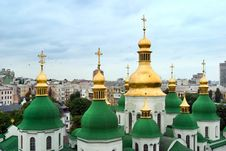 Free Sofia S Cathedral In Kiev Stock Photos - 8282873