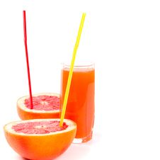 Free Juice And Grapefruit Stock Image - 8283171