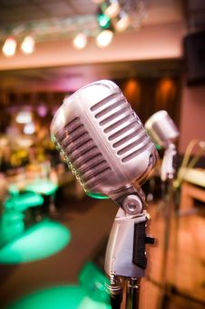 Free Close-up Of Vintage Microphone Stock Photos - 8283753