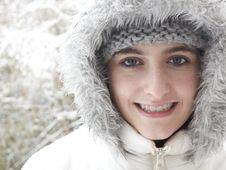 Free Teenage Girl Smiling Stock Photo - 8283980