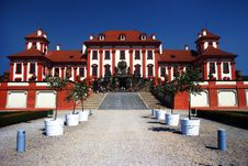 Troja Castle In Prague Royalty Free Stock Photography