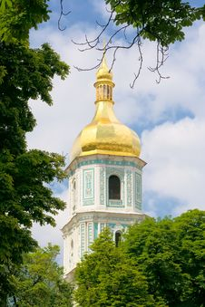 Free The Bell Of Kiev Monastery Stock Photography - 8284592