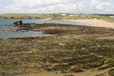 Free Devon Beach Royalty Free Stock Photos - 8285018