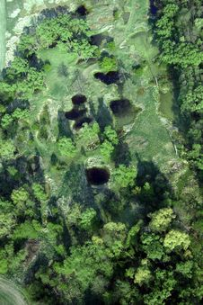 Free Ponds Near Strakonice Stock Image - 8285171