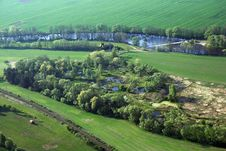Free Ponds Near Strakonice 2 Royalty Free Stock Photography - 8285187