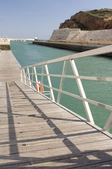 Free Albufeira Pier Stock Photo - 8285270