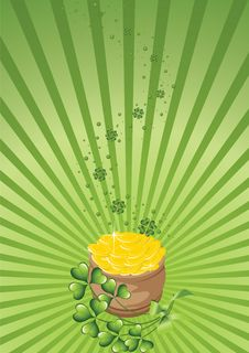 Free Design For St. Patrick S Day 2 Royalty Free Stock Image - 8285996
