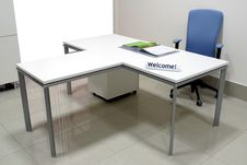 Welcome To The Office! Royalty Free Stock Photos