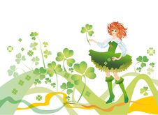 Free Background To The Day Of Patrick Sday Stock Photos - 8286153