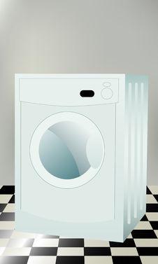 Free Washing Machine Royalty Free Stock Photos - 8286178