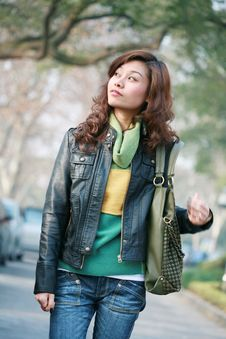 Free Young Asian Woman Stock Images - 8286334