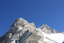 Free Austria. Mountains. The Alpes. Royalty Free Stock Photo - 8286745