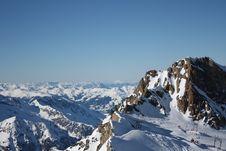 Free Austria. Mountains. The Alpes. Royalty Free Stock Photos - 8286908