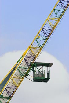 Free Crane Cabin Royalty Free Stock Photography - 8287267