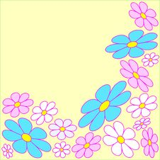 Free Floral Background Royalty Free Stock Photos - 8287278