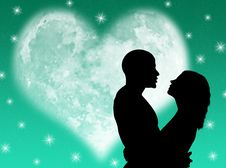 Free Lovers Night Stock Image - 8287341