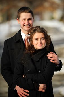 Free Happy Young Couple Stock Photos - 8287363
