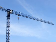 Free Construction Crane Royalty Free Stock Photography - 8287387