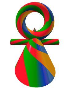 Female Symbol Stock Image