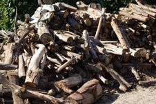 Free Stack Of Firewood Stock Images - 8287744