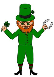 Free Lucky Leprechaun Stock Photo - 8288230