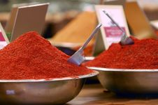 Free Hot Spices Royalty Free Stock Images - 8288249