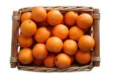 Free Basket Of Oranges Royalty Free Stock Image - 8288706