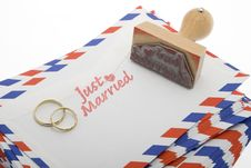 Free Just Married Royalty Free Stock Images - 8288819