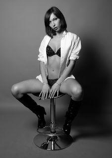 Free Seductive Woman Stock Photos - 8289263