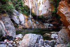 Salmon Creek Falls Stock Image