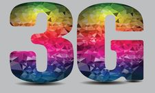 Free 3G Wireless Technology Logo Colorful Vector Stock Photography - 82827462