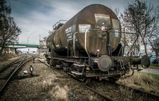 Free Railroad Tank Car Stock Images - 82890774