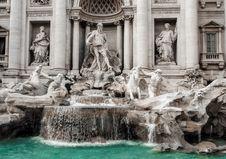 Free Trevi Fountain, Rome, Italy Royalty Free Stock Photos - 82891068