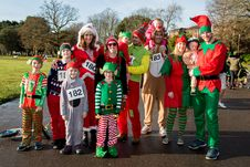 Free Group Of People Dressed As Elves Stock Images - 82892174