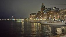 Free Night Scene Of Waterfront Architecture Royalty Free Stock Photos - 82892588
