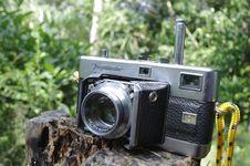 Free Vintage Film Camera Stock Image - 82893071