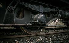 Free Train Wheels Closeup Stock Photos - 82894003