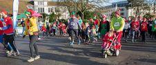 Free Christmas Elf Parade Stock Images - 82898964