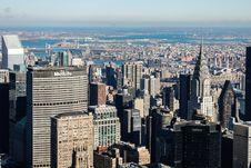 Free Urban Skyline On Sunny Day Stock Image - 82899111