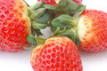 Free Close-up Of Ripe Strawberries Royalty Free Stock Images - 8290109