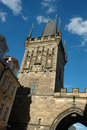 Free Town Bridge Tower Of Charles Bridge In Prague Stock Photos - 8298883