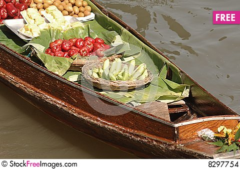 Free Thailand At Damnoen Saduak Floating Market Stock Images - 8297754