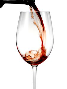 Free Pouring Wine Stock Photo - 8290300