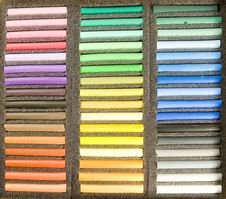 Free Pastels Royalty Free Stock Photo - 8290635