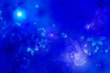 Free Background With Flowerets Royalty Free Stock Images - 8291769