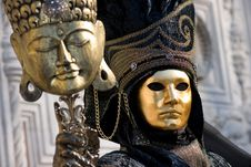 Free Venice Carnival Royalty Free Stock Photo - 8291855